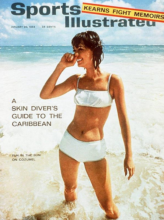 Babette March na obálce časopisu v roce 1964.