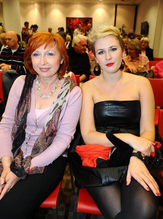 Tereza Černochová s maminkou Dášou.