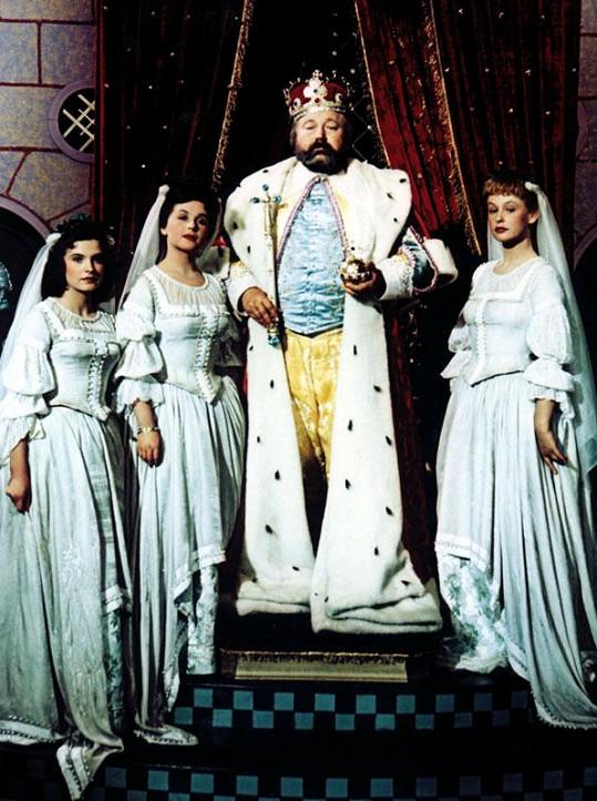 S Janem Werichem, Milenou Dvorskou a Irenou Kačírkovou v Byl jednou jeden král
