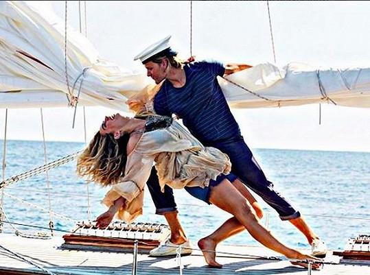 S kamarádem prý trénovali na pokračování třetího dílu filmu Mamma Mia!