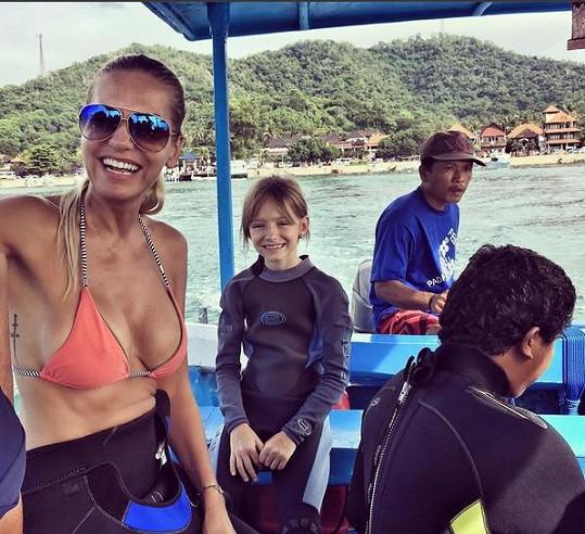 Výlet za potápěním