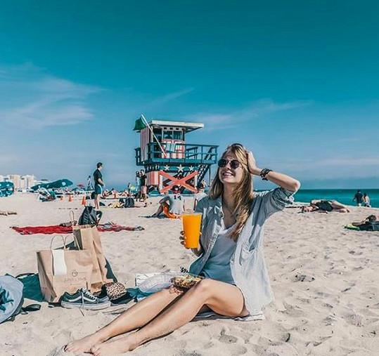 Lenošení na pláži
