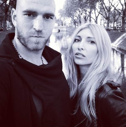 Ivana Mentlová s přítelem Martinem Latkou