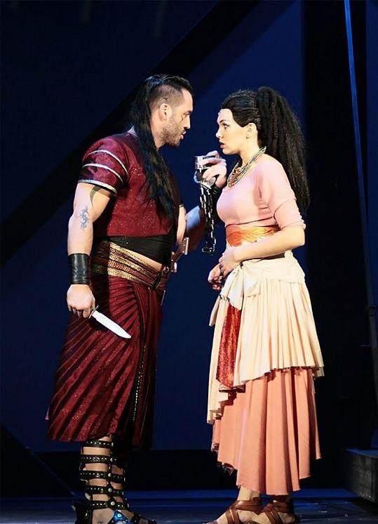Na scéně s Vaškem Noidem Bártou.