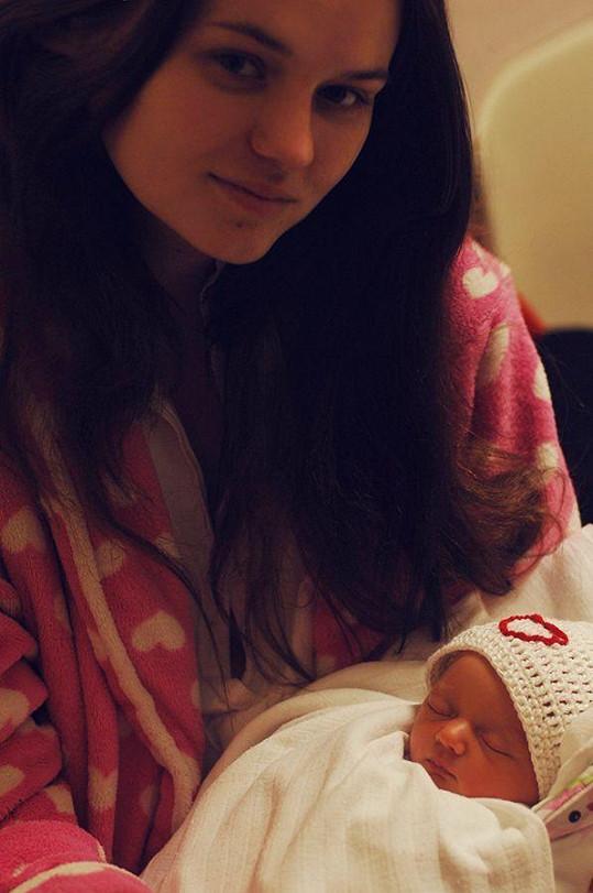 Klaudii se narozením dítěte splnil životní sen.