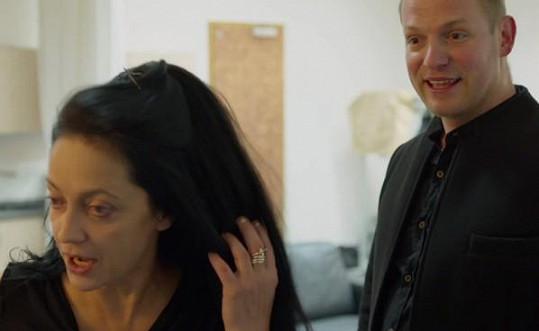 Lucie Bílá se v dokumentu Nebe peklo Lucie zhrozila, že se před kamarádem ukázala bez make-upu.