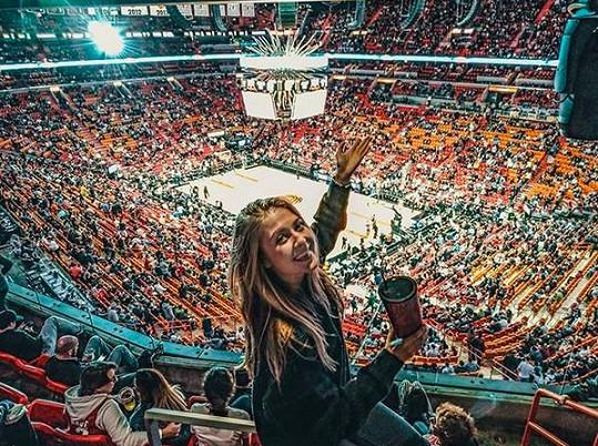 Jeden z těch největších pak byla návštěva basketu.