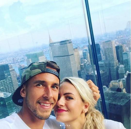 Lukáš Rosol a Petra Kubinová tvoří krásný pár.