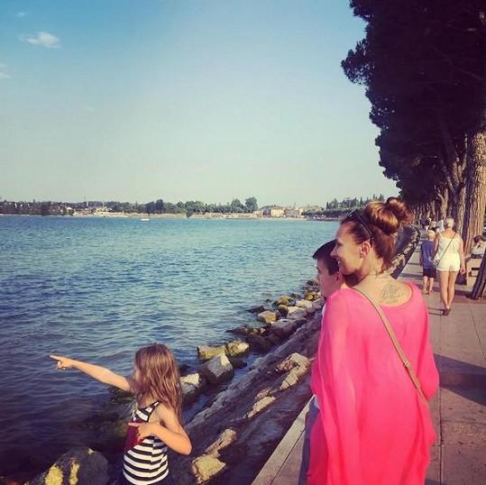 Procházka okolo jezera Garda