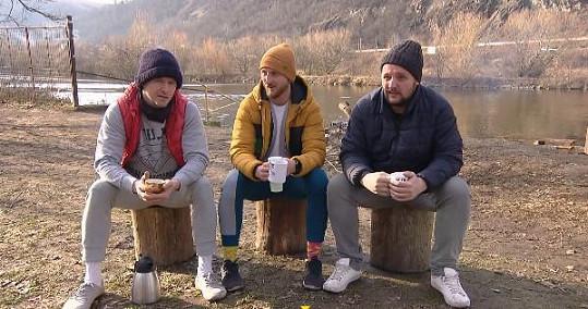 František, René a Radek si spolu rozumí. Asi víc než se svými nevěstami ze Svatby na první pohled