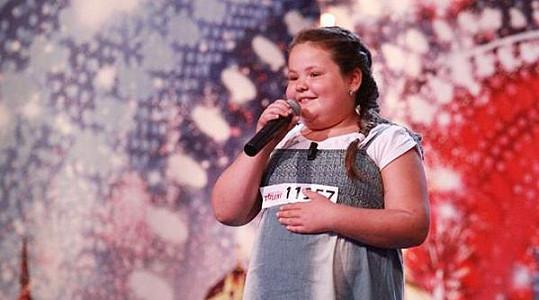 Adéla Ferencová v Talentu (2011)