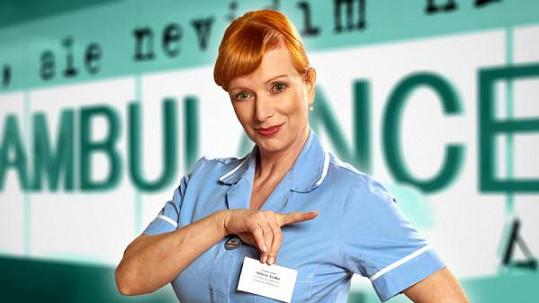 Bára Štěpánová se těší z popularity díky roli Babety Trefné v Ordinaci.