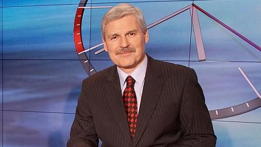 Pavel Dumbrovský uváděl Televizní noviny šest let.