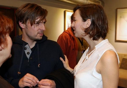 Berenika Kohoutová s expřítelem Pavlem Čechákem