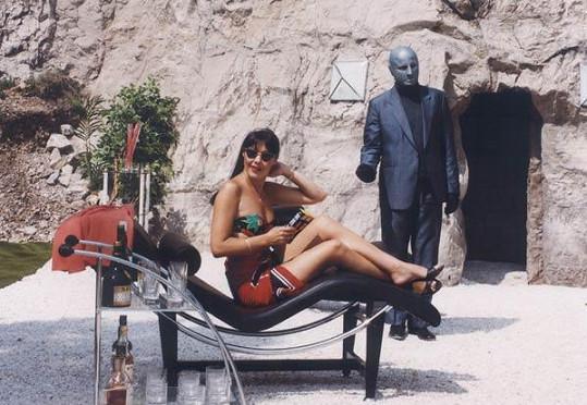 Dáda Patrasová v pokračování Arabely, kde ji hýčkal samotný Fantomas.