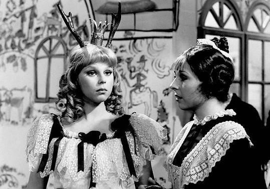 Lenka v pohádce O hruškách ušatkách a jablíčku parohátku (1979)