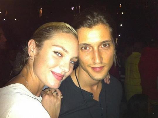 Model Hermann Nicoli je partnerem Candice už od jejích 17 let.