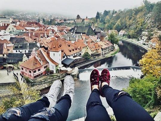 Pár už má za sebou romantický pobyt v Českém Krumlově.