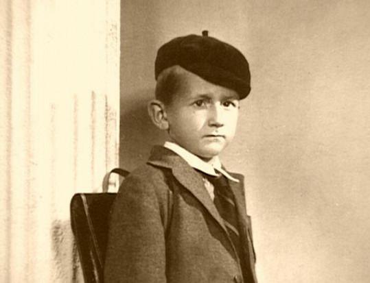Eugen Jegorov jako malý chlapec
