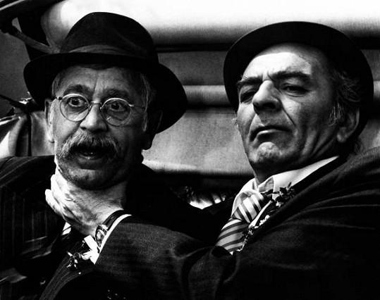 Vlastimil Brodský a Josef Bláha vytvořili povedenou dvojku ve filmu Tchán.