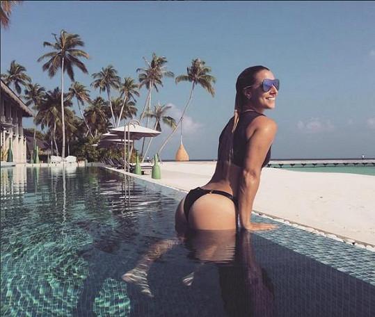 Touto fotkou z Malediv Dominika Cibulková vyprovokovala celé Slovensko.