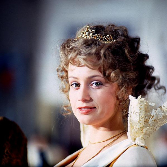 Jana Nagyová jako pohádková princezna Arabela