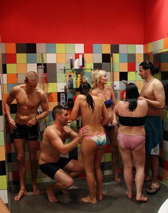 Hromadná sprcha VyVolených