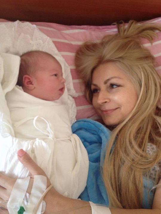 Kateřina s dcerou Sophií