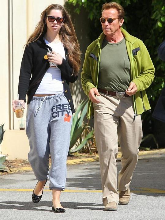 Arnold Schwarzenegger s dcerou Katherine.