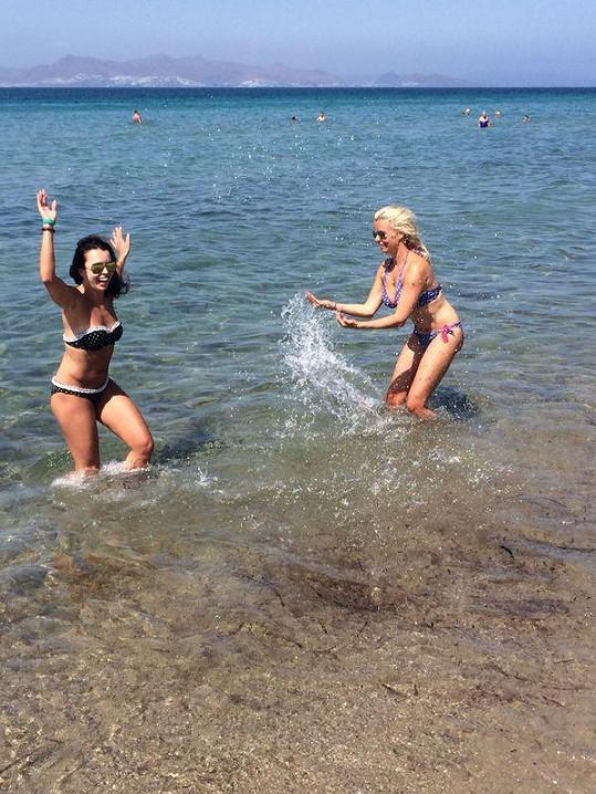 Na ostrově Kos si užily spoustu legrace.