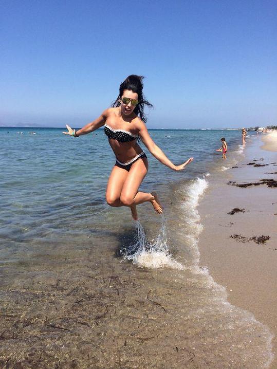 Adéla si užívá dovolenou na řeckém ostrově Kos.