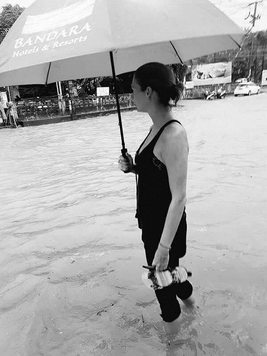 Tereza Zimová předvedla vodu po kolena.