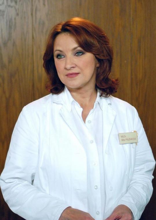 Zlata Adamovská začala Ordinaci natáčet v roce 2006.