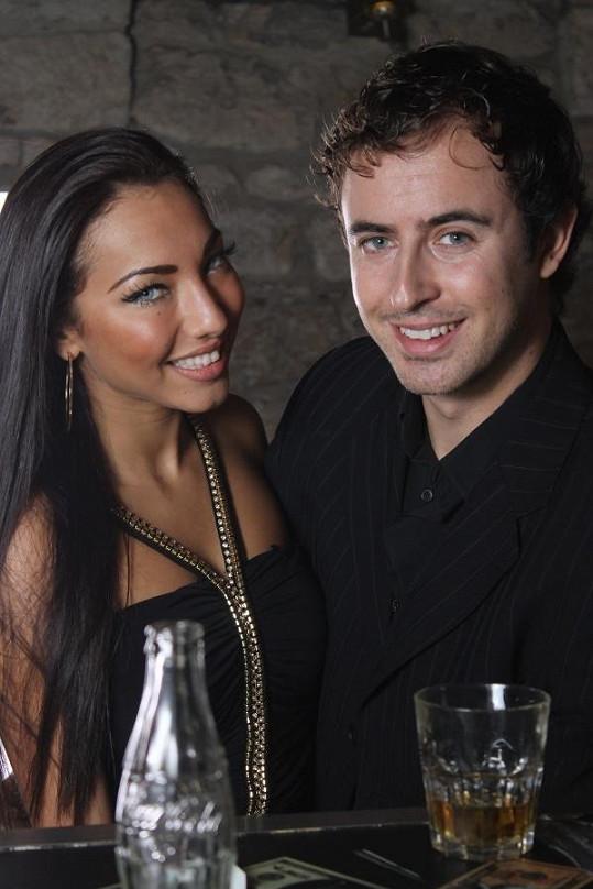 Miriam s přítelem Mirkem Hrabětem.