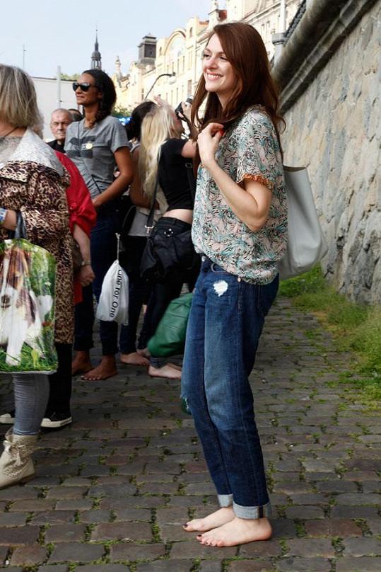 Den bez bot podpořila i Klára Issová.