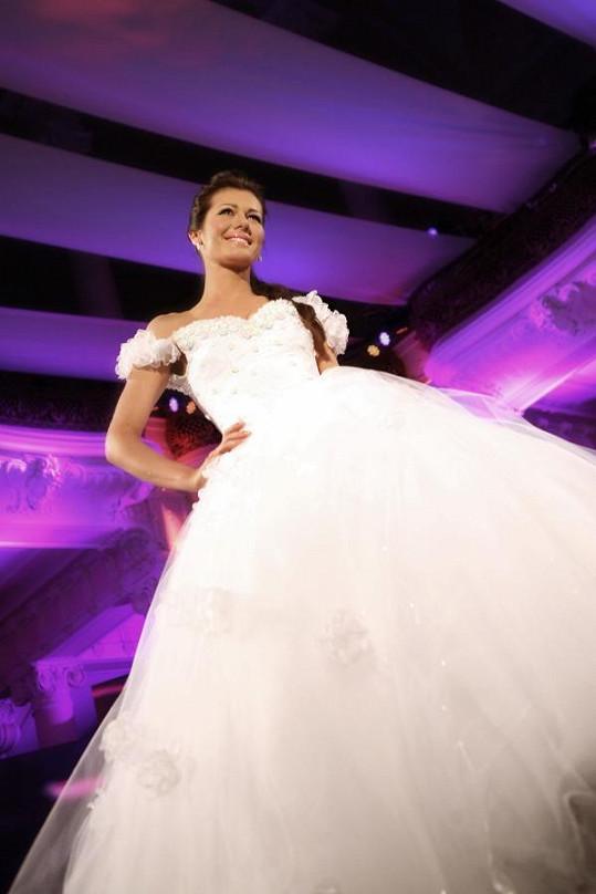 Jana Doleželová ve svatebním