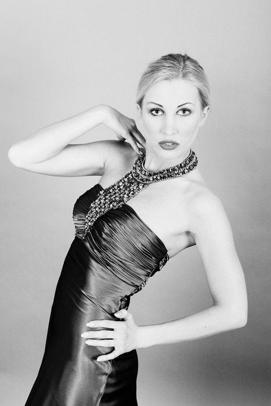 Mária Smiešková na původním snímku.