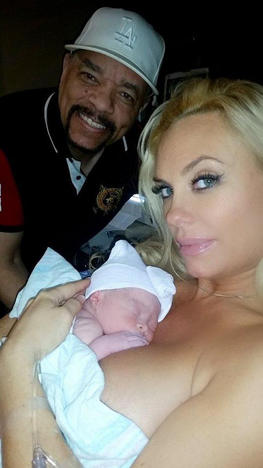 Coco Austin a Ice-T jsou hrdými rodiči malé Chanel.