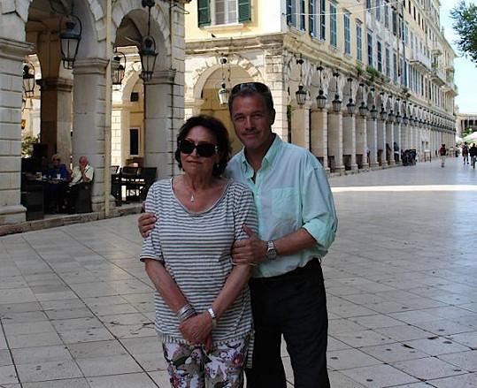 Marta Kubišová s Milanem Heinem
