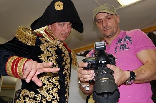 Petr jako Napoleon.