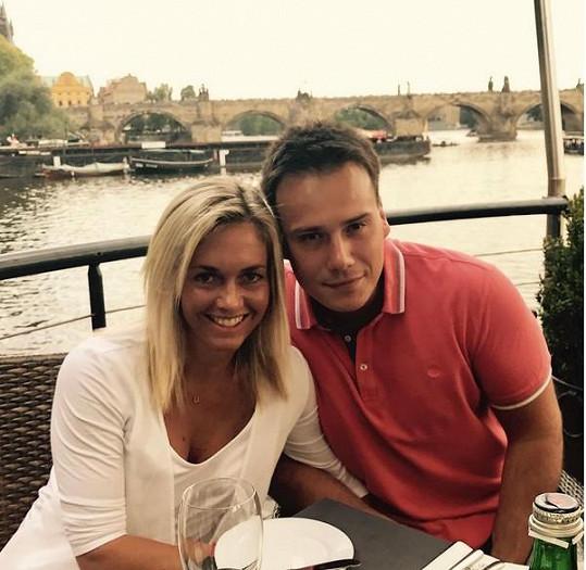 Petr Suchoň a Klára Koukalová nedávno oslavili výročí.