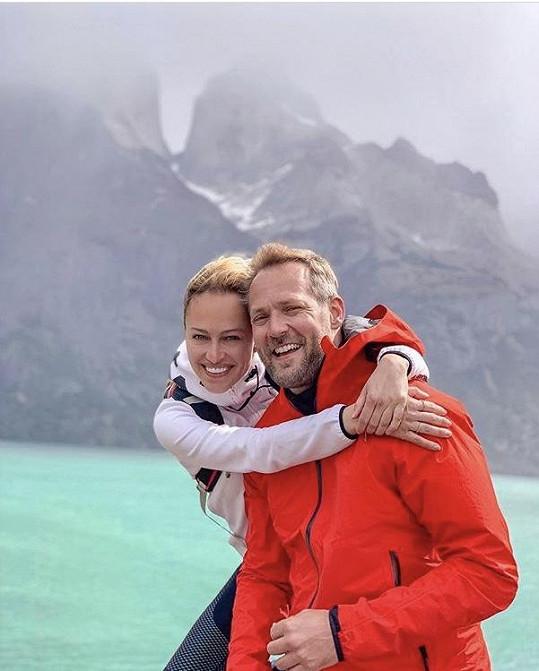 Renata s manželem Ondřejem Novotným.