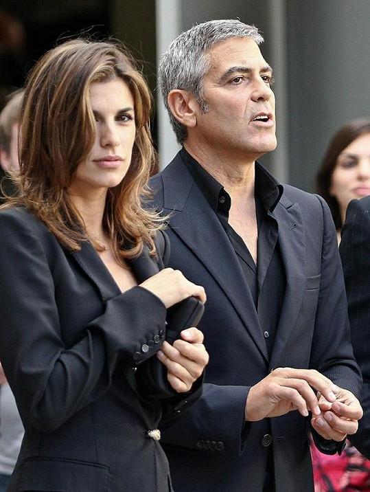 Italka a americký herec tvoří pohledný pár.