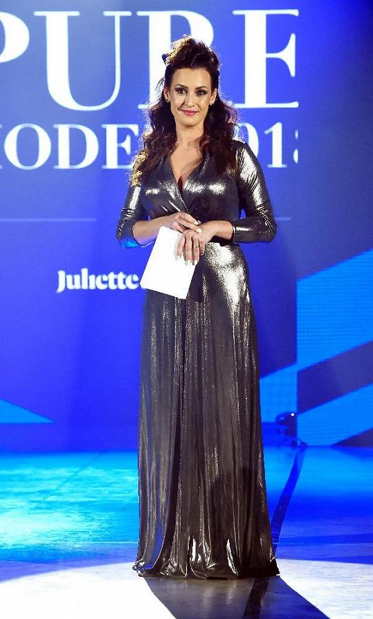 Veronika Farářová na finále modelingové soutěže