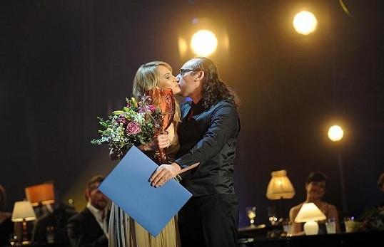Cenu Monice předával Marian Vojtko.