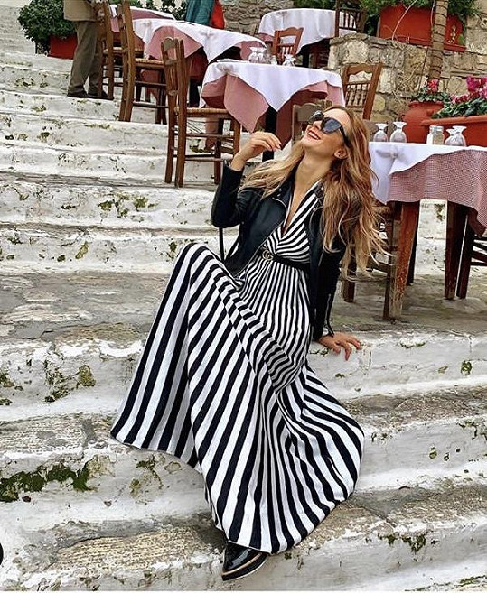 V Řecku už ji fotil partner.