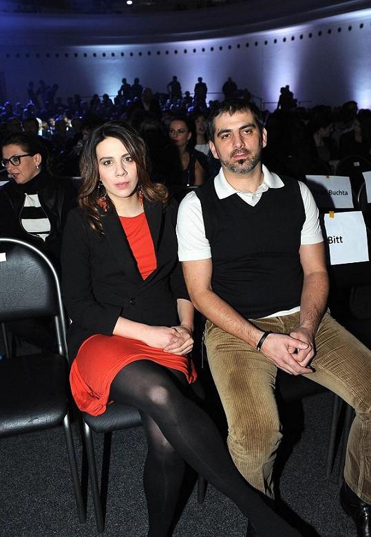 Aneta s bratrem Nikolou.