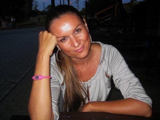 Simona Kratochvílová, s kterou Černý prý čeká už druhé dítě.