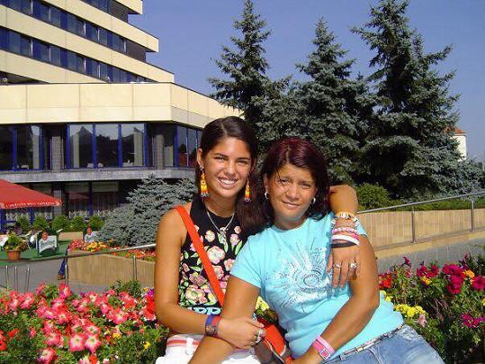 S maminkou Zuzanou Kardovou