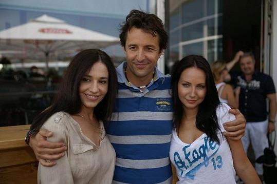Míša Kuklová s kolegy Veronikou Novou a Tomášem Krejčířem.